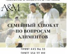 Юрист по алиментам Харьков